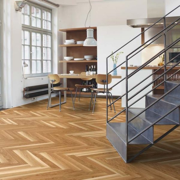 Boen Prestige Herringbone Oak Basic Live Natural EIN2TK5D - Room