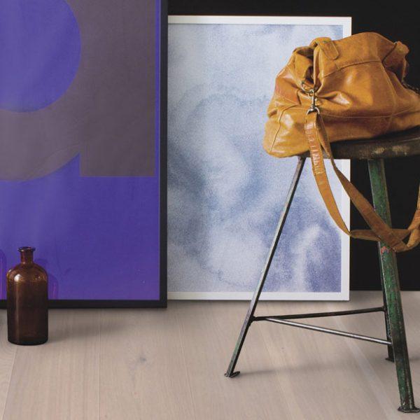 Boen Stonewashed Oak Pearl White 209mm Live Natural ORGV4MFD - Room