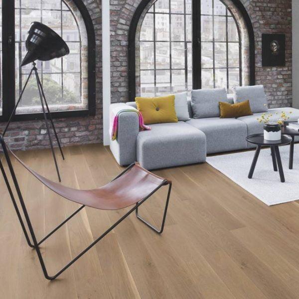 Boen Stonewashed Oak Sand 138mm Live Natural XHG84MFD - Room