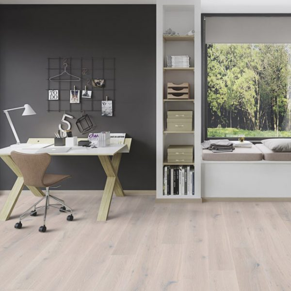 Boen Stonewashed Oak White Stone 209mm Live Natural XVGVVMFD - Room