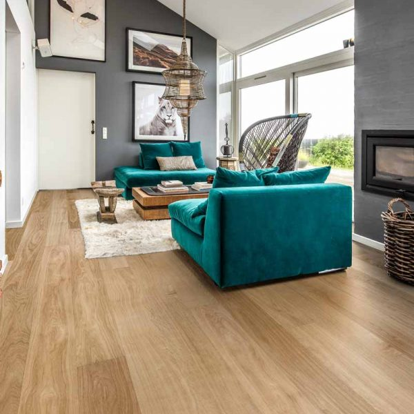 Kahrs Oak Dublin Ultra Matt Engineered Wood Flooring - Room Set