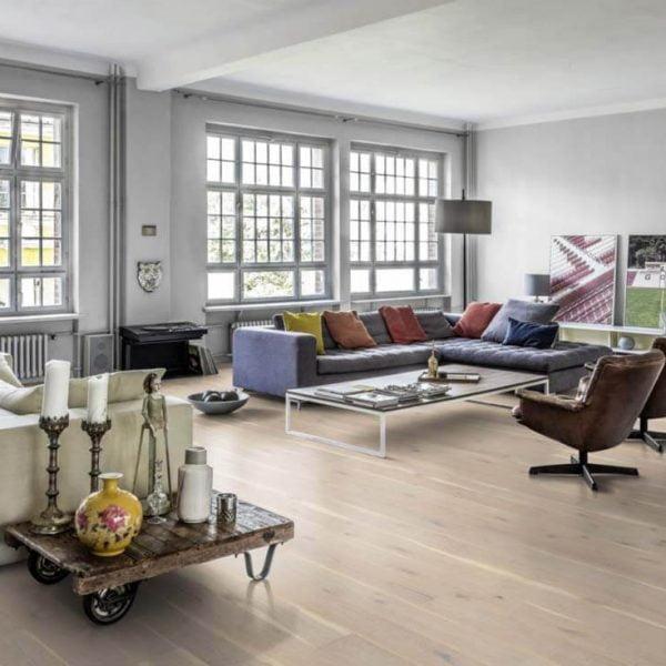 Kahrs Oak Nouveau Lace - Room