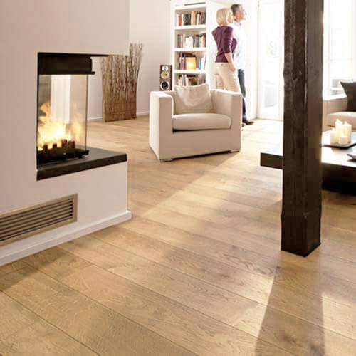 Lushwood Engineered Oak 150mm Flooring Room View