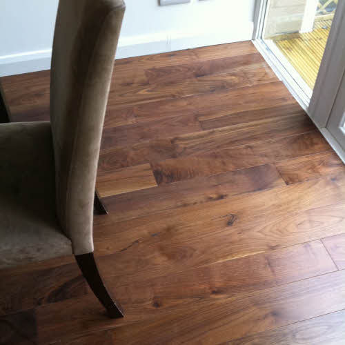 Lushwood Solid Walnut 120mm Room View