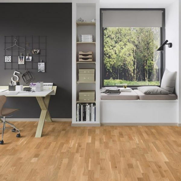 Boen Oak Finale 3-Strip Brushed Live Natural FAGLTKTD - Room