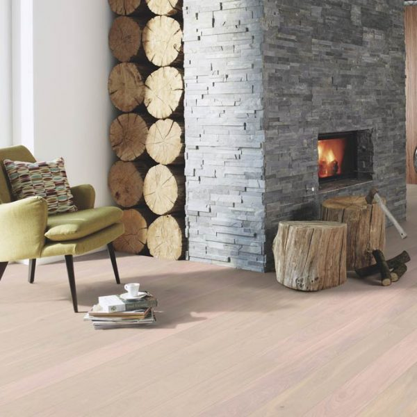 Boen Stonewashed Oak Pearl 138mm Live Natural ORG84MFD - Room