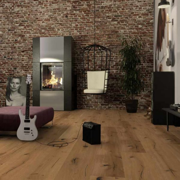 Boen Oak Epoca Chaletino Brushed Live Natural SLCYZKWD - Room