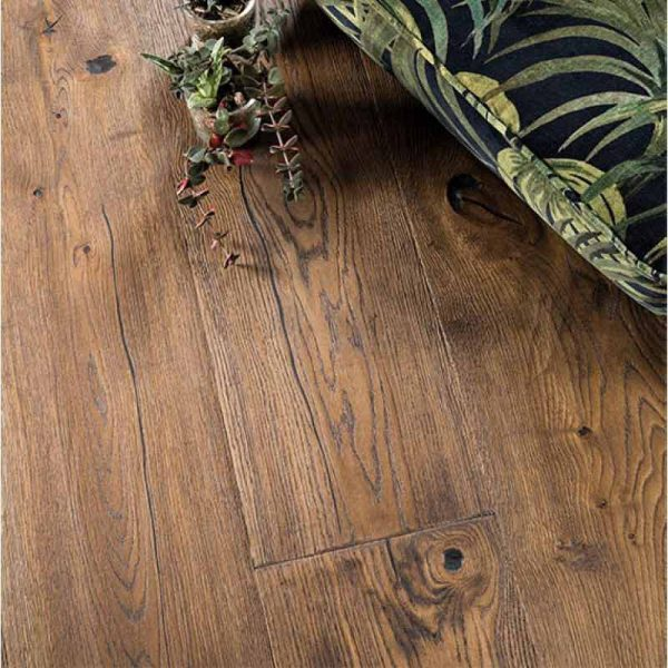 Boen Oak Antique Brown Chalet Brushed Live Natural SNCXZKWD - Room