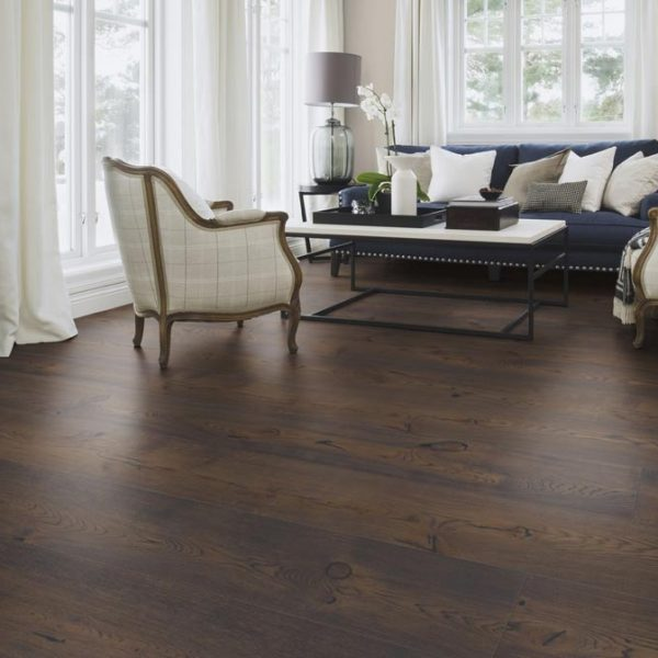 Boen Oak Brown Jasper Chaletino Brushed Live Natural XZCYVKFD - Room