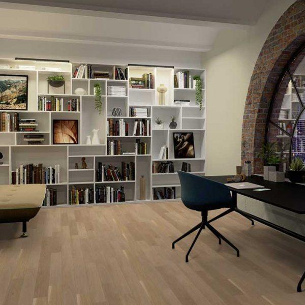 Boen Finesse Oak Nature Brushed Live Pure EBLE33FD - Room