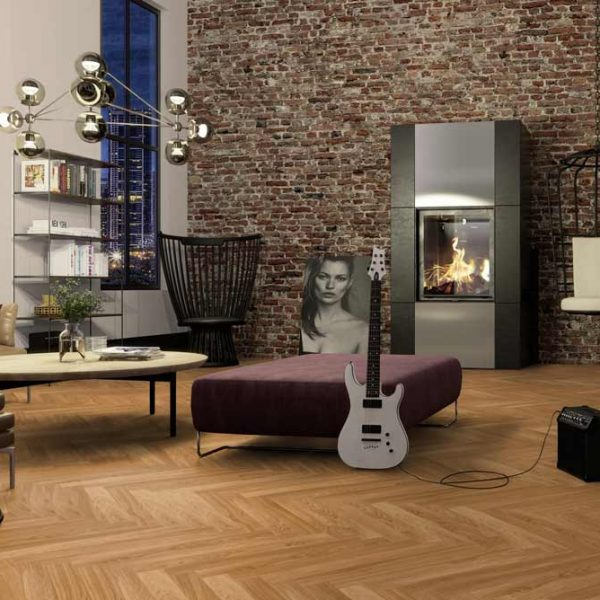 Boen Prestige Herringbone Oak Nature Live Matt EIN2355D - Room