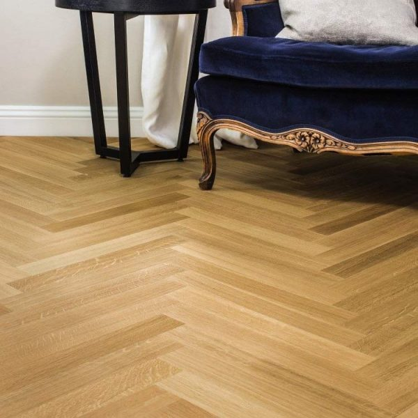 Boen Prestige Herringbone Oak Nature Live Natural EIN23K5D - Room