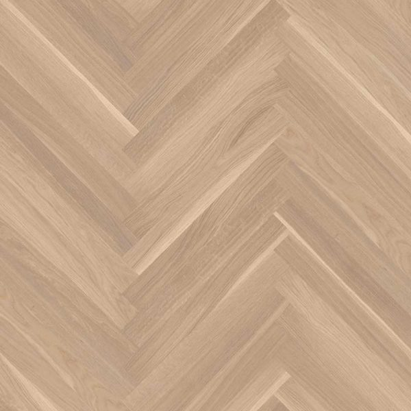 Boen Prestige Herringbone Oak White Baltic Live Natural EIN28M5D