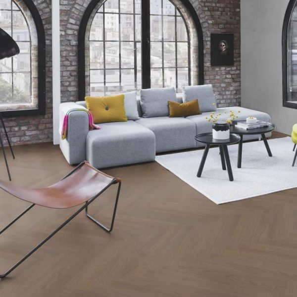 Boen Prestige Herringbone Oak Arizona Live Matt EQN2355D - Room