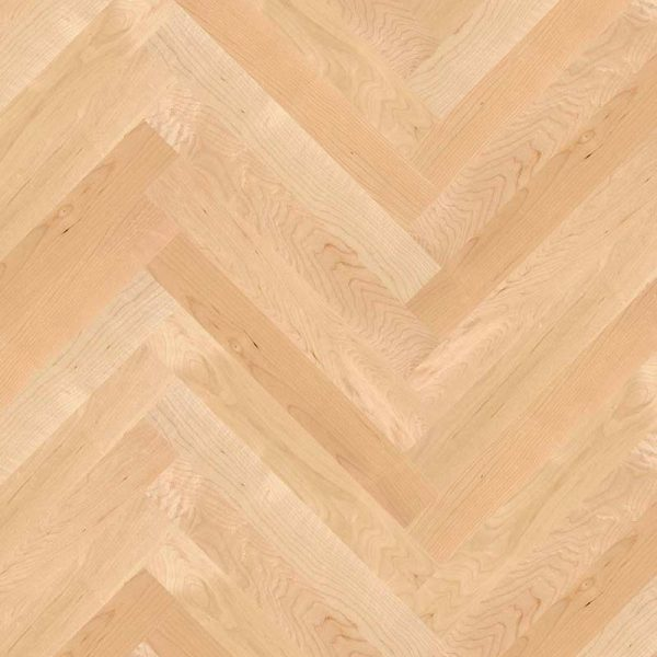 Boen Prestige Herringbone Maple Canadian Nature Live Natural MAN23K5D