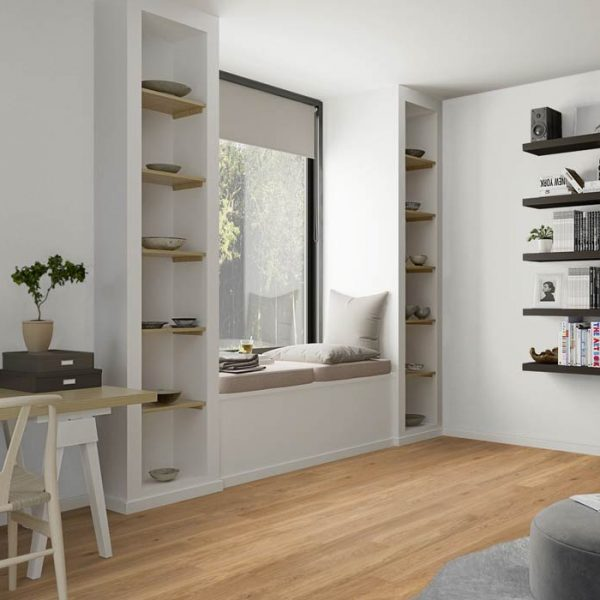 Boen Finesse Oak Old Grey Brushed Live Natural OGLE4KFD - Room