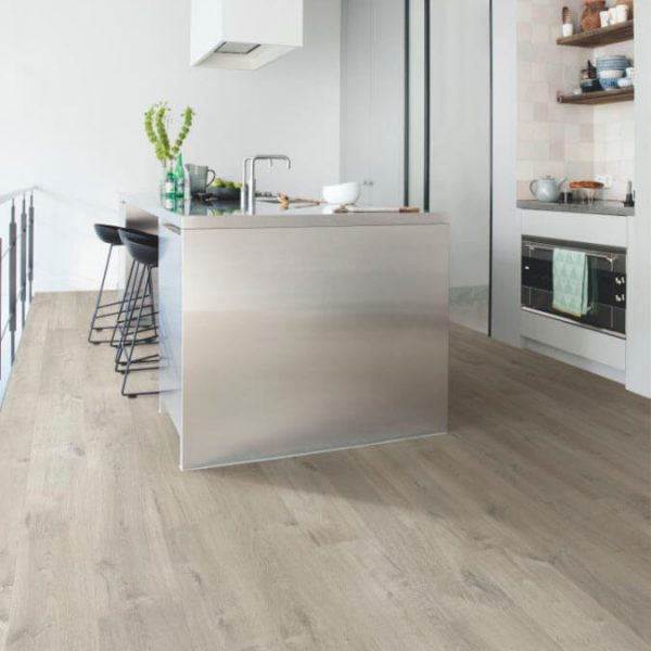 Quickstep Impressive Soft Oak Light Grey IM3558 - Room