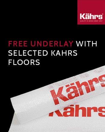 Free Kahrs Underlay