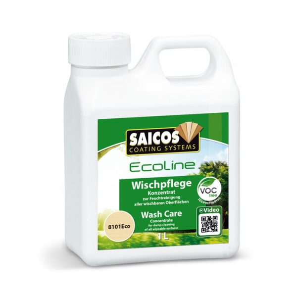 Saicos Ecoline Wash Care - Wood Flooring Cleaning Solution