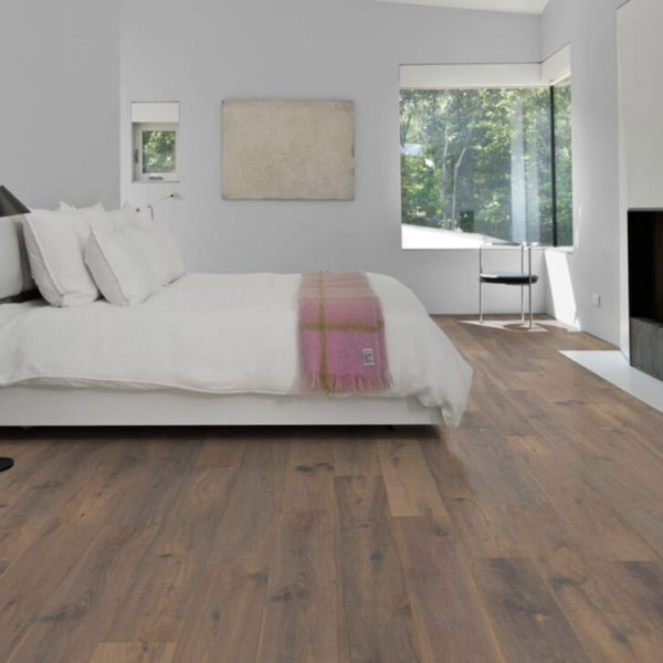 Kahrs Oak Cemento Engineered Wood Flooring - Room