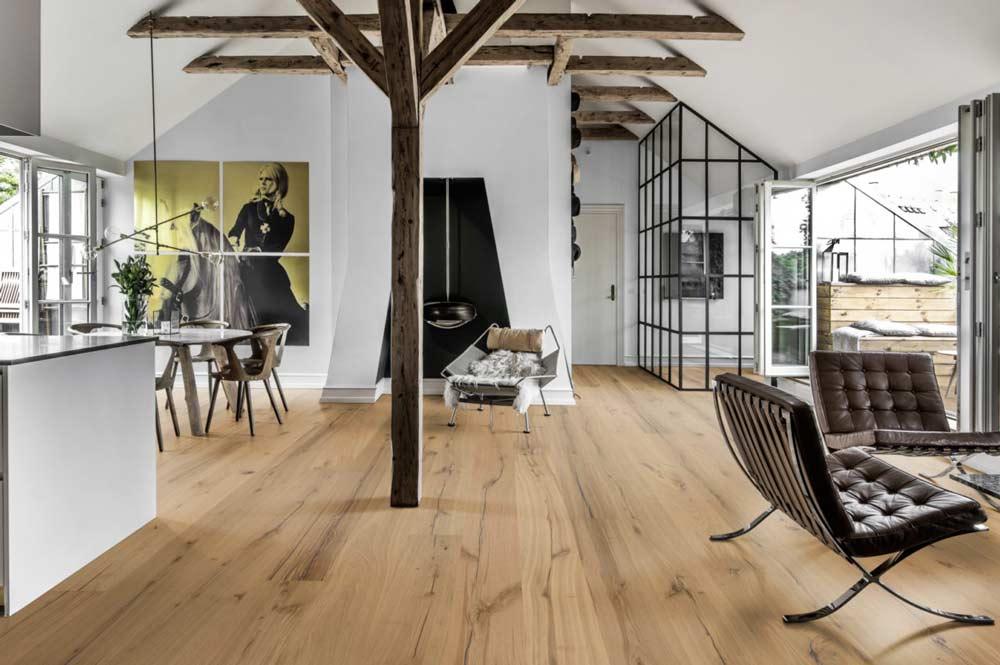 Kahrs Oak Pallido Engineered Flooring • European Naturals Collection
