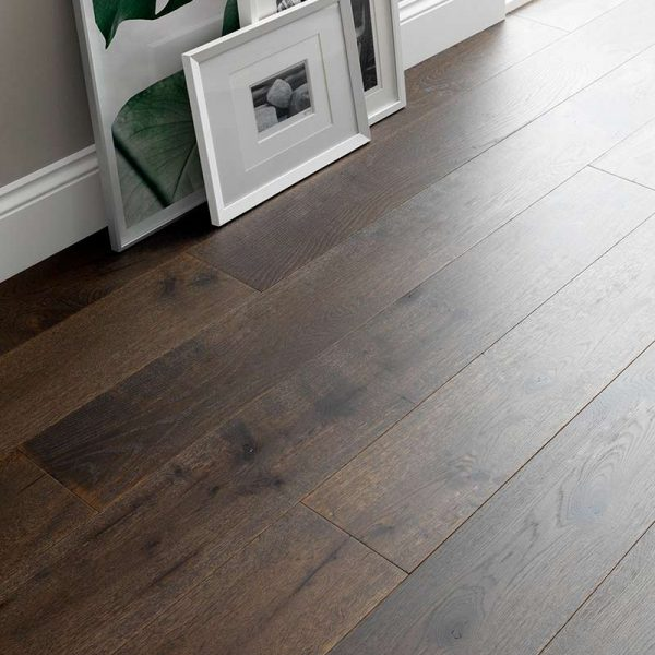 Woodpecker Chepstow Planed Cocoa Oak Engineered Wood Flooring