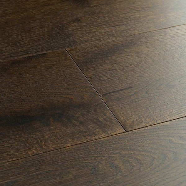 Woodpecker Chepstow Planed Cocoa Oak Engineered Wood Flooring - Swatch