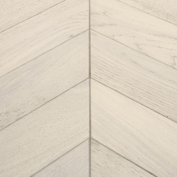 Woodpecker Goodrich Cashmere Oak Chevron Engineered Wood Flooring - Swatch