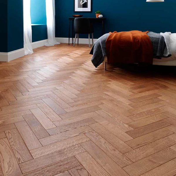 Woodpecker Goodrich Coffee Oak Engineered Wood Flooring