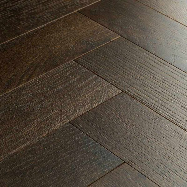 Woodpecker Goodrich Espresso Oak Engineered Wood Flooring - Swatch