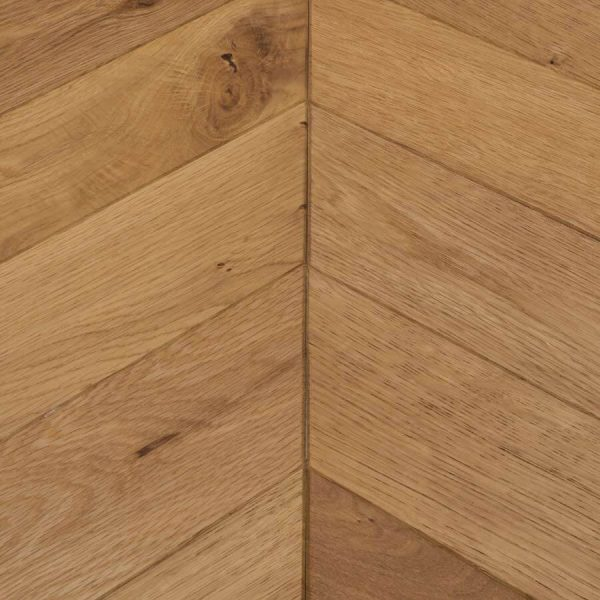 Woodpecker Goodrich Manor Oak Chevron Engineered Wood Flooring - Swatch