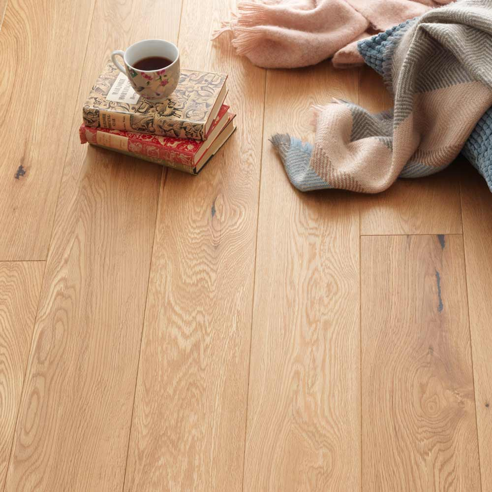 Woodpecker Harlech Rustic Oak Brushed And Lacquered 150mm