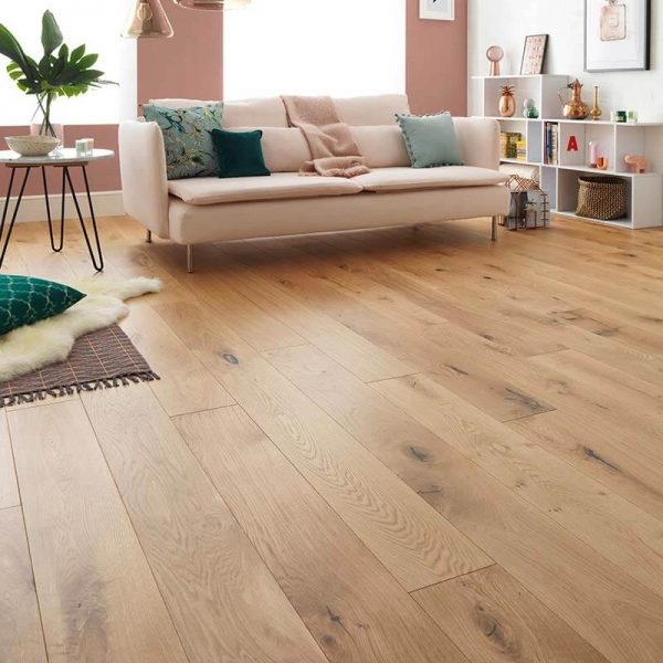 Woodpecker Harlech Rustic Oak Oiled Wide 190mm
