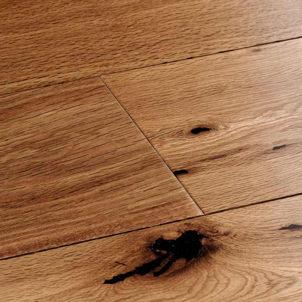 Woodpecker Harlech Smoked Oak Engineered Wood Flooring - Swatch