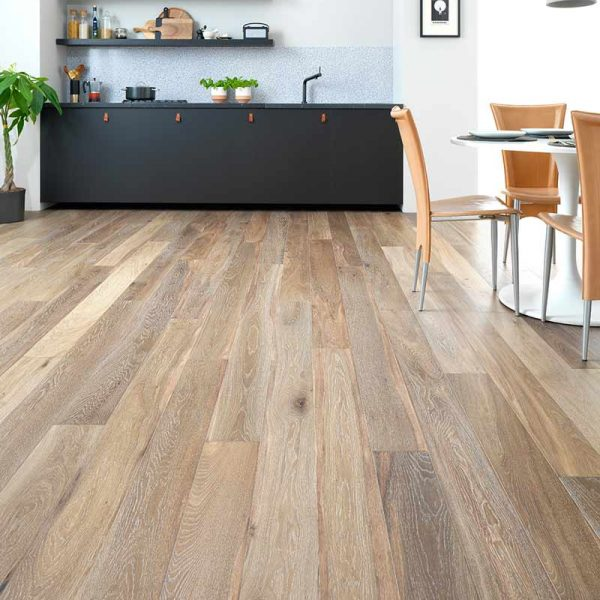 Woodpecker Harlech White Smoked Oak 240mm
