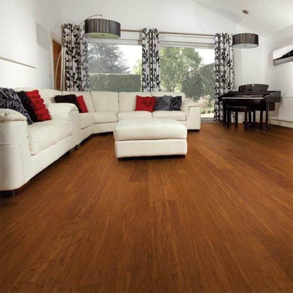 Woodpecker Oxwich Coffee Strand Bamboo Flooring