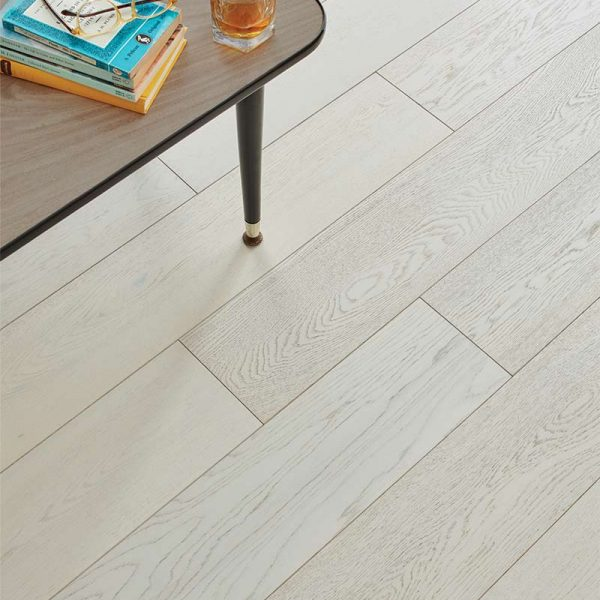 Woodpecker Salcombe Chalked Oak Engineered Wood Flooring