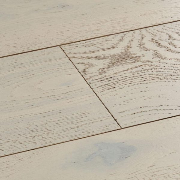 Woodpecker Salcombe Chalked Oak Engineered Wood Flooring - Swatch