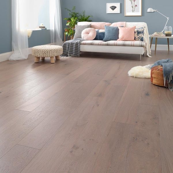 Woodpecker Salcombe Moonbeam Oak Engineered Wood Flooring