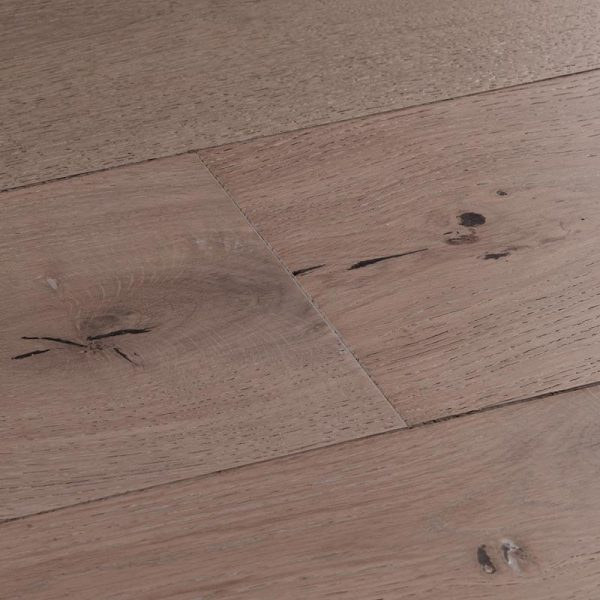 Woodpecker Salcombe Moonbeam Oak Engineered Wood Flooring - Swatch