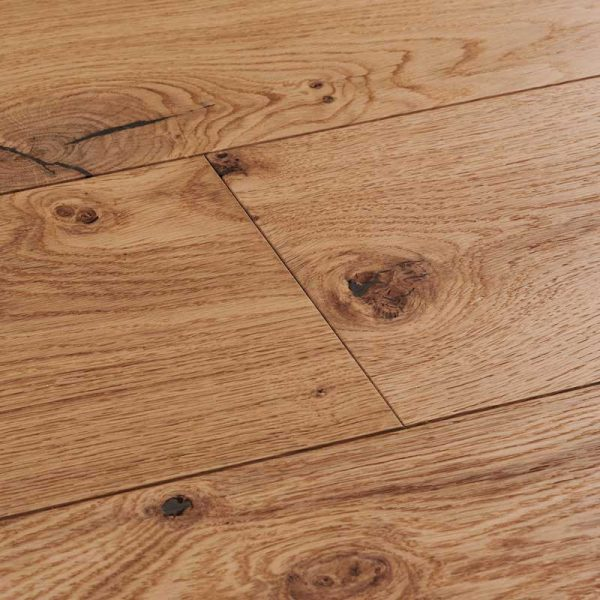Woodpecker Salcombe Natural Oak Engineered Wood Flooring - Swatch