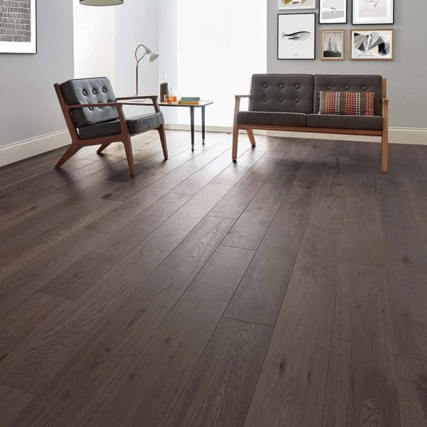 Woodpecker Salcombe Shadow Oak Engineered Wood Flooring