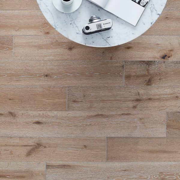 Woodpecker York Grey Washed Oak - Solid Wood Flooring