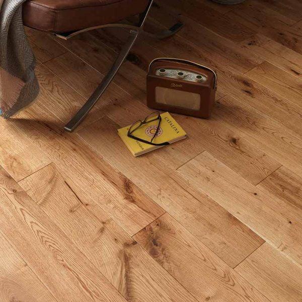 Woodpecker York Rustic Oak Oiled - Solid Wood Flooring