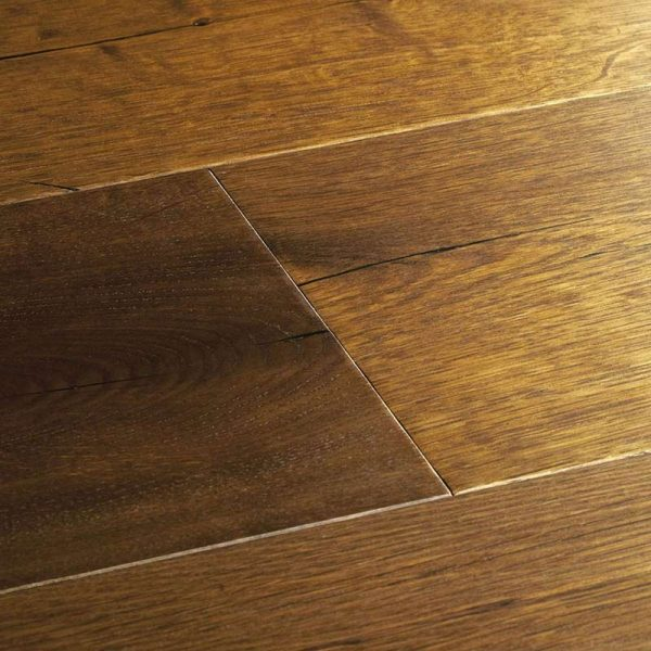 Woodpecker Berkeley Burnt Oak Engineered Wood Flooring - Swatch