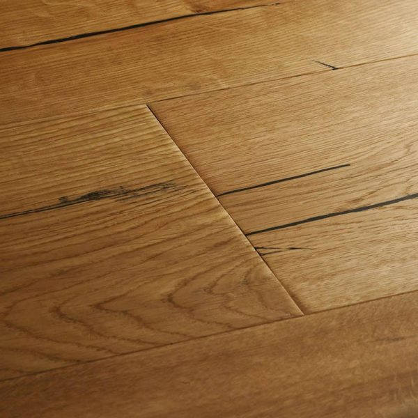 Woodpecker Berkeley Natural Oak Engineered Wood Flooring - Swatch