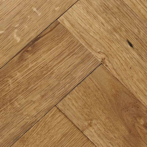 Woodpecker Goodrich Natural Oak Engineered Wood Flooring - Swatch