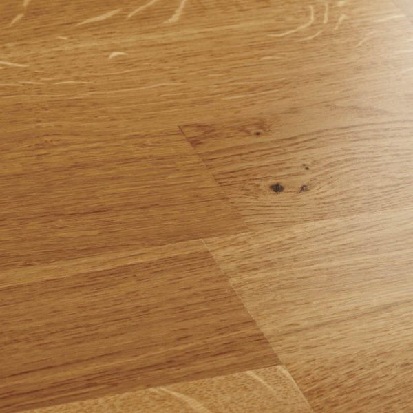 Woodpecker Salcombe Natural Oak 3 Strip Engineered Wood Flooring - Swatch