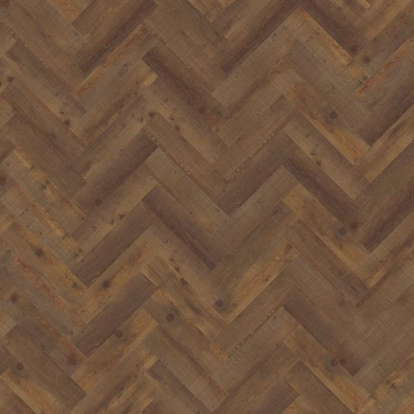 Kahrs Komi DBW 102 Herringbone Vinyl Flooring - Swatch