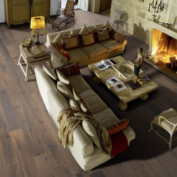 Kahrs Old Town Oak York Handscraped Engineered Wood Flooring - Room